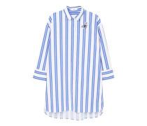 Gestreiftes oversize-hemd