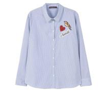 Baumwollhemd mit patches