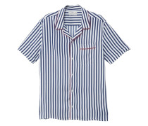 Regular fit-hemd mit streifen