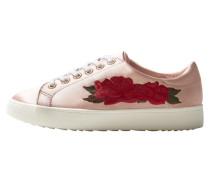 Bestickte sneakers in satin-optik
