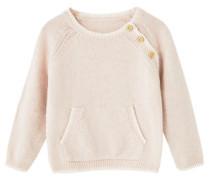 Pullover Aus Wolle-Baumwoll-Mix.