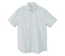 Slim fit hemd mit krawattenmuster