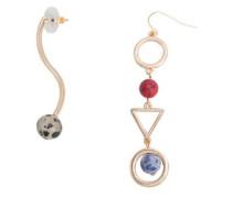 Kombinierte Asymmetrische Ohrringe
