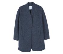 Lässiger Mantel Aus Woll-Mix
