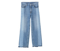 Relaxed jeans in vintage-optik