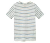 Gestreiftes Baumwoll-Shirt