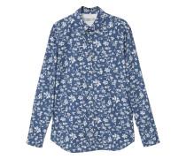 Regular fit hemd mit blumendruck