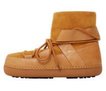 Ankleboots Im Leder-Mix