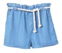 Jeansshorts mit kordel