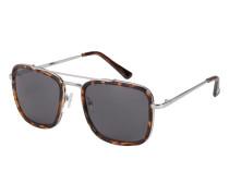 Sonnenbrille mit metalldetails