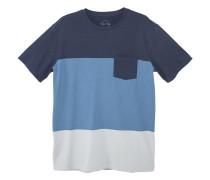Baumwoll-t-shirt mit einsätzen
