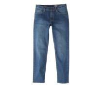 Sim fit jeans jan mit dunkler waschung