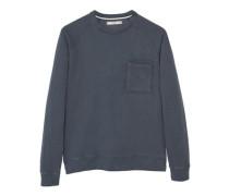 Baumwoll-Sweatshirt Mit Tasche