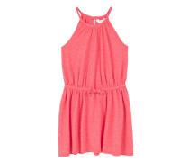 Kleid mit elastischer taille