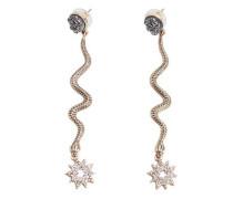 Ohrhänger mit kristallen