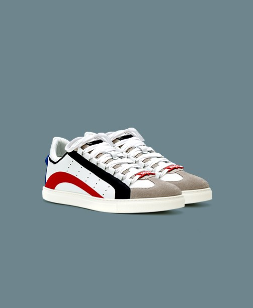 Sneakers weiß bunt Dsquared