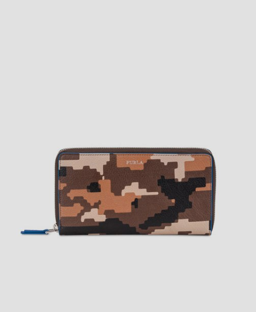Furla camouflage Portemonnaie