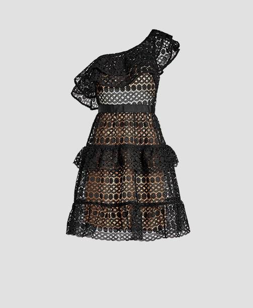 Schwarzes Kleid von Self-Portrait