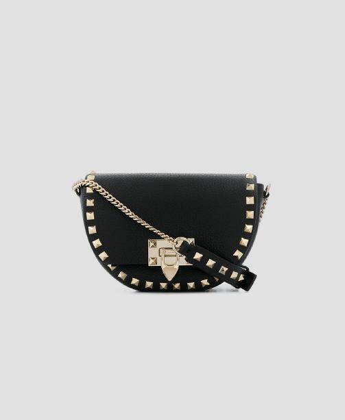 Rockstud Tasche schwarz