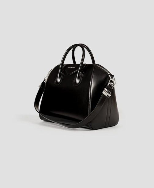 Givenchy Antigona Umhängetasche schwarz