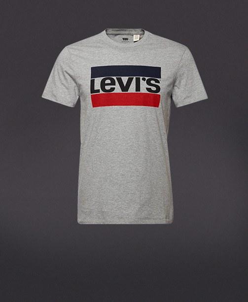 T-shirt mit Levi's Logodruck
