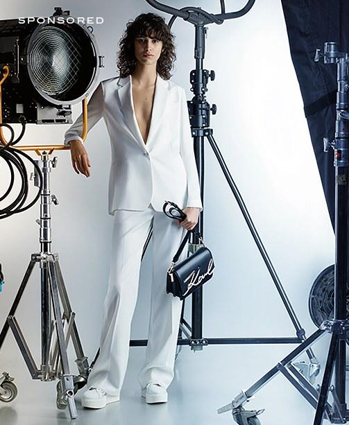 In den Frühling mit Karl Lagerfeld