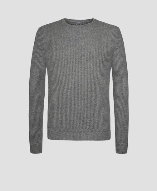 Grauer Pullover von FTC Cashmere