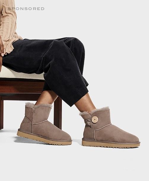 UGG-Boots am Model