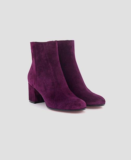 Gianvito Rossi Stiefelette violet