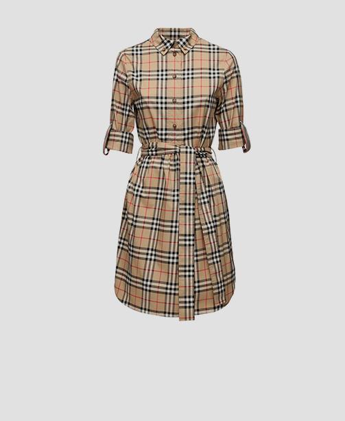 Kleid von Burberry