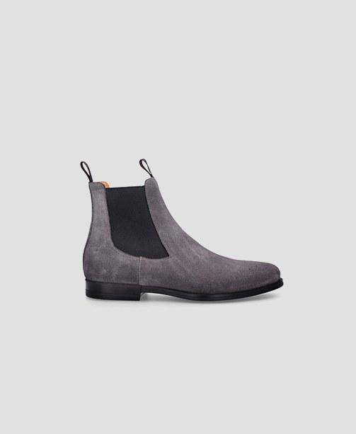 Chelsea Boots grau Santoni