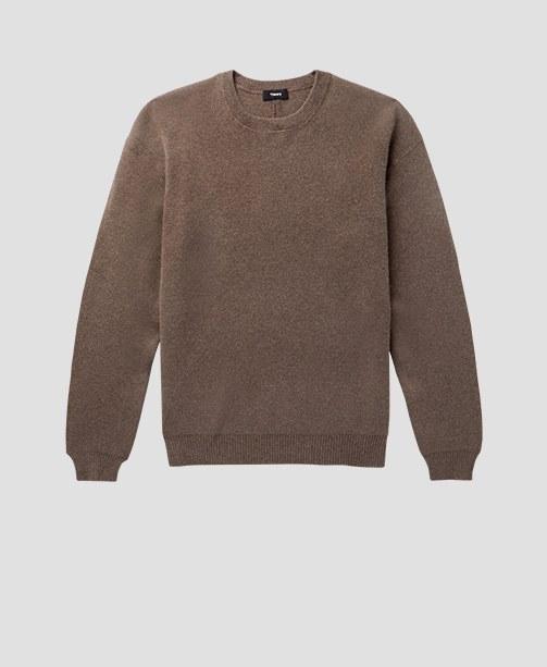 Pullover in Kaki von Theory
