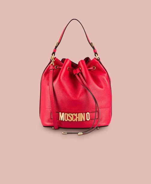 Bestseller Damen Moschino Beuteltasche, rot