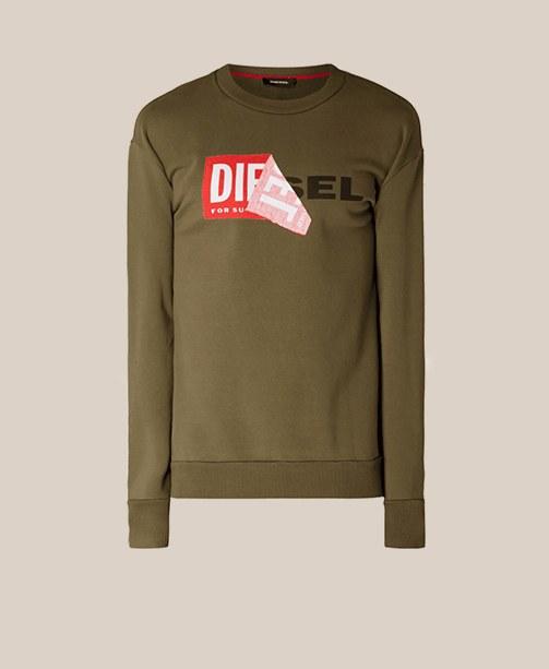 Sweatshirt Diesel Khaki