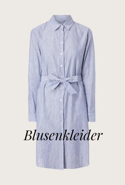 Blusenkleider