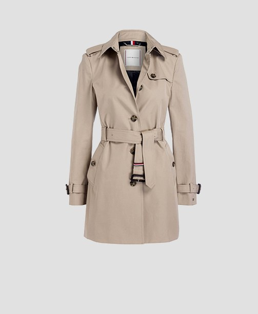 Trenchcoat beige TH