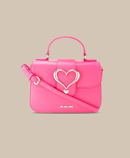 Rosa Tasche Love Moschino