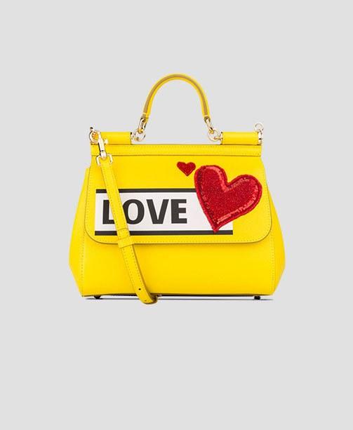 Gelbe Tasche von Dolce&Gabbana