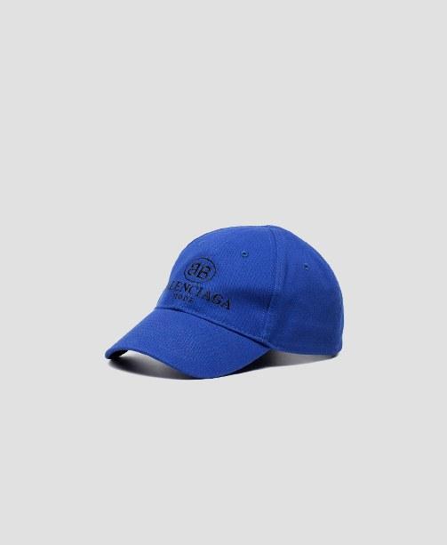 Balenciaga Cap blau