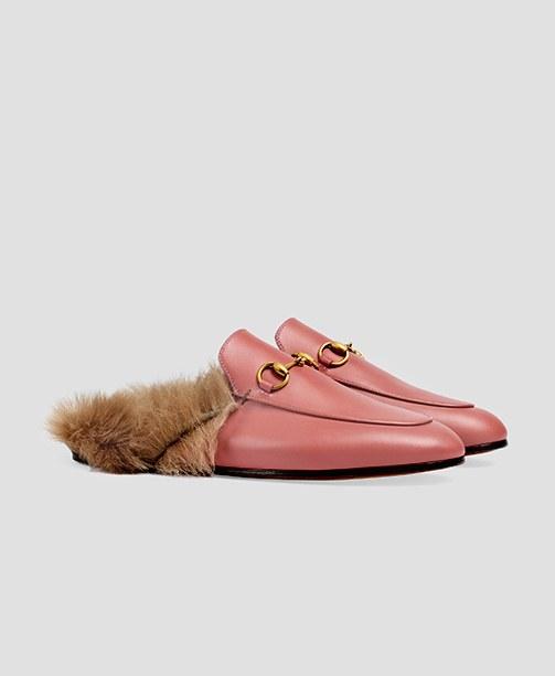 Gucci Princetown Pantoletten