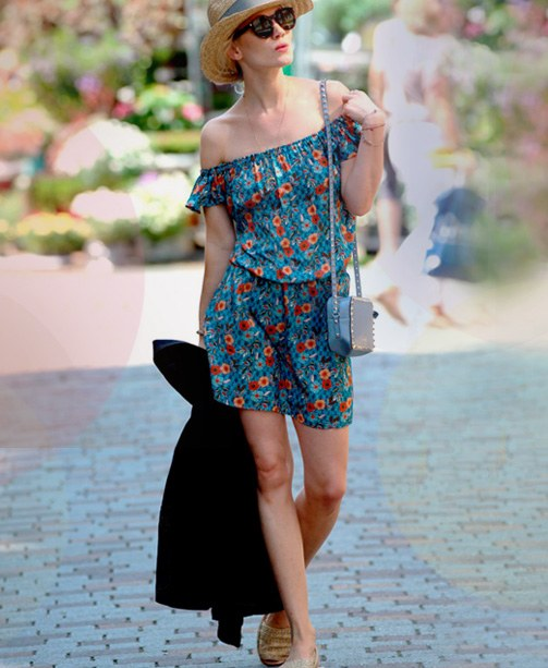 Kate Glitter von wunschfrei im Blümchenkleid