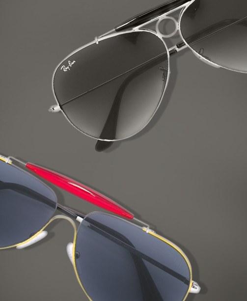 Ray Ban und Prada Sonnenbrille