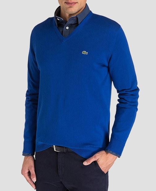 Lacoste V-Pullover