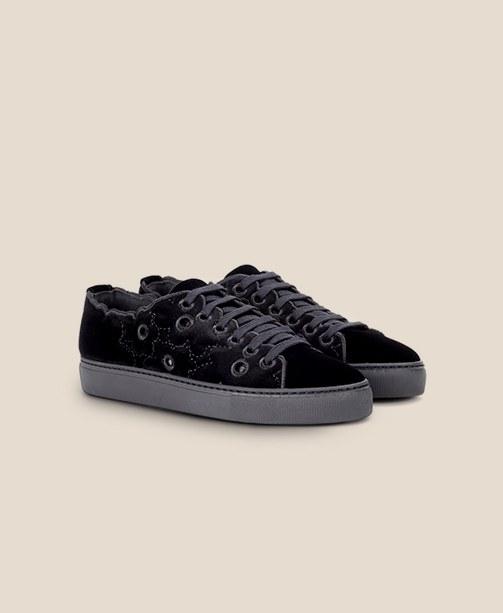 Samt-Sneaker Simone Rocha