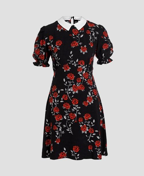 gemustertes Kleid  Sandro