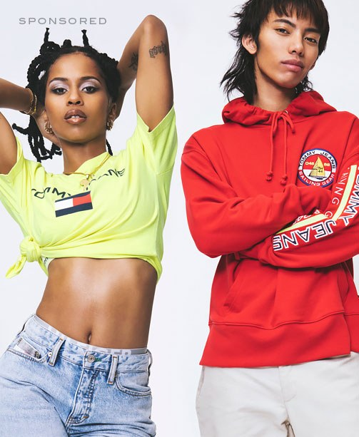 Tommy Hilfiger Jeans Collection Kampagnenbild