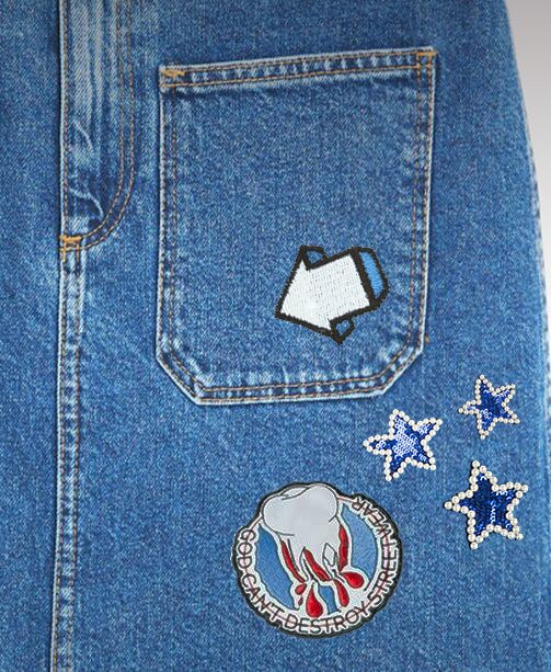 All-Over-Denim: Patches lieben Jeans!